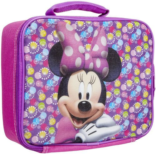 Fast Forward Rectangular Lunch Bag - Minnie Mouse - 1