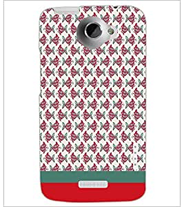 HTC ONE X FISH PATTERN Designer Back Cover Case By PRINTSWAG