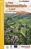 echange, troc FFRandonnée - Le Pays montreuillois à pied : 39 promenades & randonnées