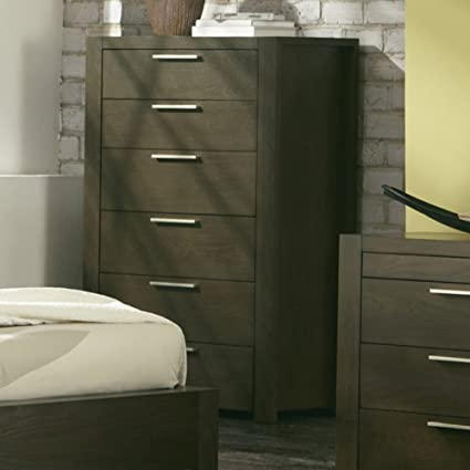 Hudson 6 Drawer Chest - Deep Licorice