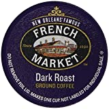 French Market Coffee Singe Serve Cups, Dark Roast , 12 Count