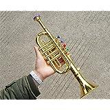 Emulational trumpet children's boy girl developmental toy kid musical instrument