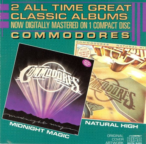 Commodores - Natural High/Midnight Magic - Zortam Music