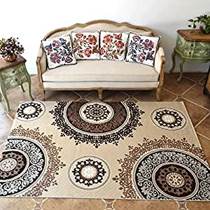 Ustide Living Room Carpet Modern Style Bedroom Carpet