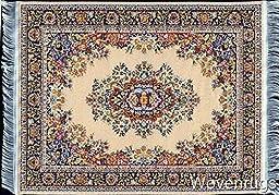 Miniature Rug Mouse Pad - Colorful Oriental Carpet Design Mousemat
