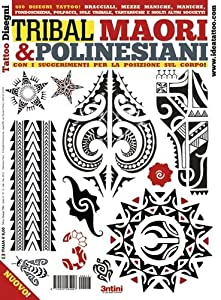 Livre de Tatouage Flash Tribal, Maori et Polynésien
