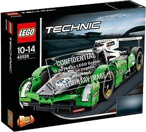 lego technic 42039 jeu de construction la voiture de course des 24 heures jeux. Black Bedroom Furniture Sets. Home Design Ideas