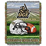 CENTRAL FLORIDA KNIGHTS NCAA WOVEN TAPESTRY THROW (HOME FIELD ADVANTAGE) (48X60)