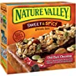 Nature Valley Sweet and Spicy Chili Granola Bars, Dark Chocolate, 6 Count (Pack of 12)
