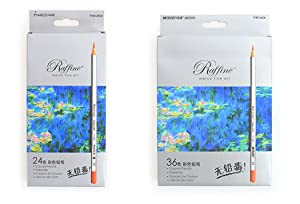 Marco Fine Art Colored Pencils/Drawing Pencils for Sketch/Secret Garden Coloring Book (Not Included) 36-color (Color: 36-Color)
