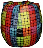 Orka XXL Digital Printed Bean Bag Cover - Multicolor