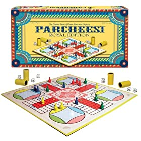 Parcheesi board game!