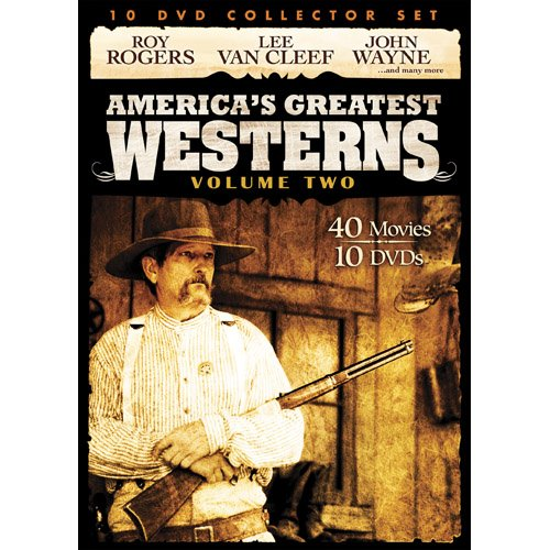 Cover art for  America's Greatest Westerns Collector Set V.2 10-DVD Pack