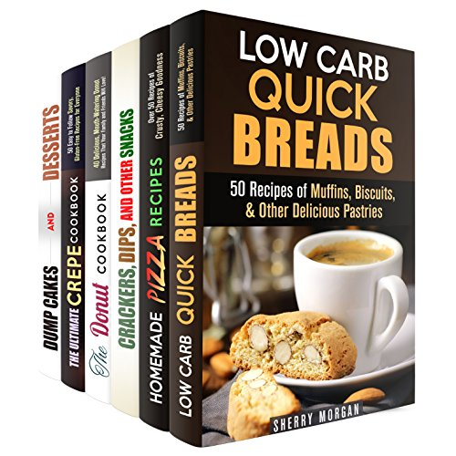 Bread and Cake Snacks Box Set: Quick and Easy, Delicious Bread and Cake Recipes for Snack and Dessert (Quick and Easy Baking & Cake Recipes) by Sherry Morgan, Monique Lopez, Nicole Moran, Jessica Meyers, Jessie Fuller, Marisa Lee