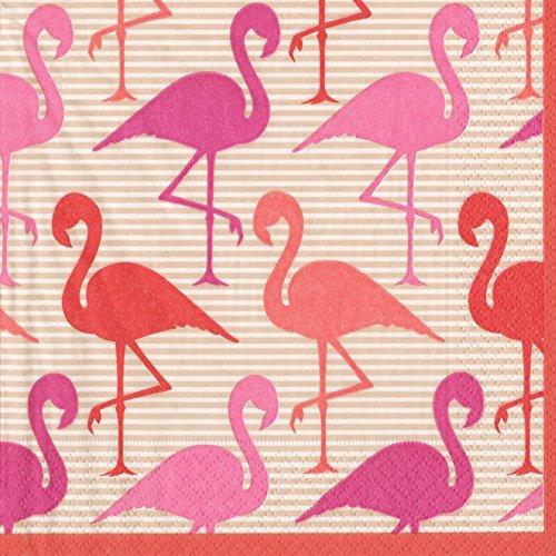 Flamingo Strut, Cocktail Napkin, Pack of 20