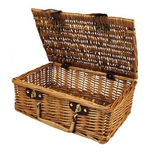 Wald Imports Ltd Wald Imports  Inch Wicker Picnic Basket Brown