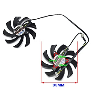 inRobert FD7010H12S 85mm Dual-X Fan For Sapphire HD7950 R9