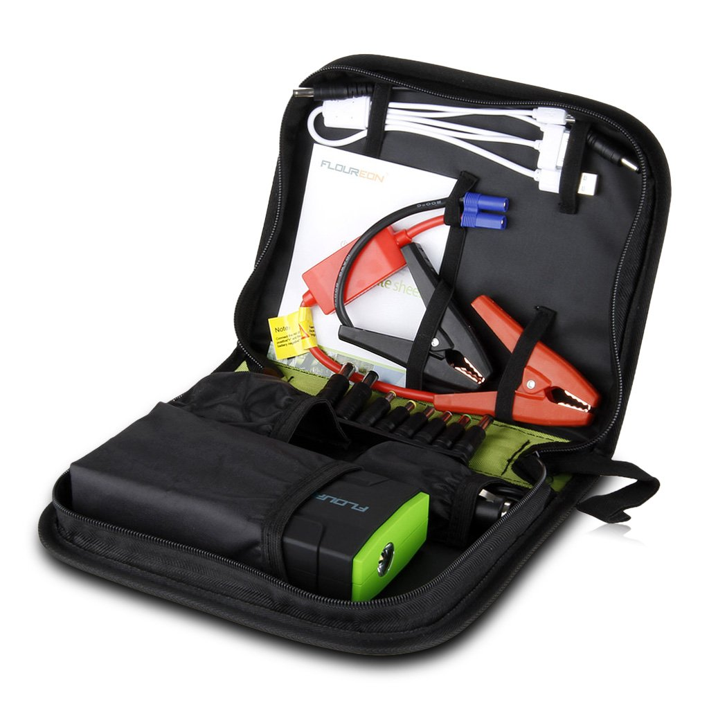 Floureon 13600mAh Multi-function Portable Car Jump Starter