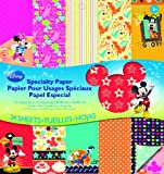 EK Success Brands Disney Specialty Paper Pad, Mickey Family