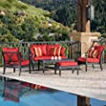 Astoria 5 Piece Loveseat And Club Seating Set by Rst Brands