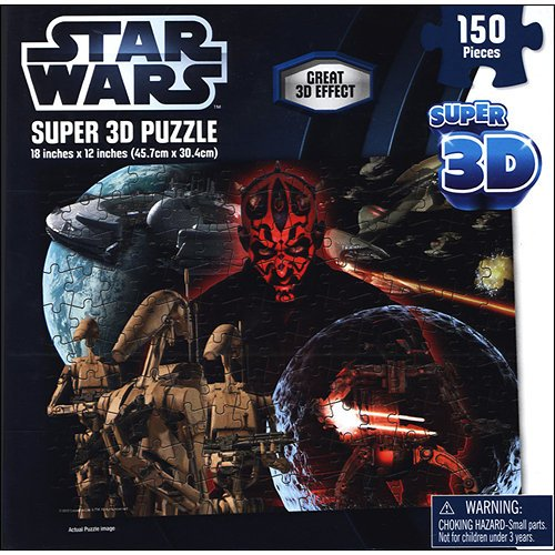 Star Wars Super 3D Puzzle Darth Maul 150 Pieces