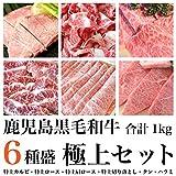 A5等級 鹿児島黒毛和牛 6種セット 1kg
