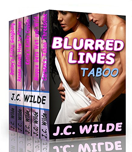 J.C. Wilde - Blurred Lines: Taboo Erotica Bundle