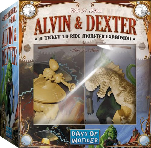 Goto Alvin And Dexter: A Ticket To Ride Monster Expansion Details
