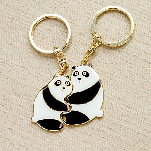 Perfect-Together-Keychains-Panda-1-pair-include-2-pieces
