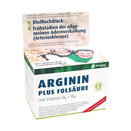 Arginin Plus Folsäure Kapseln 120 stk