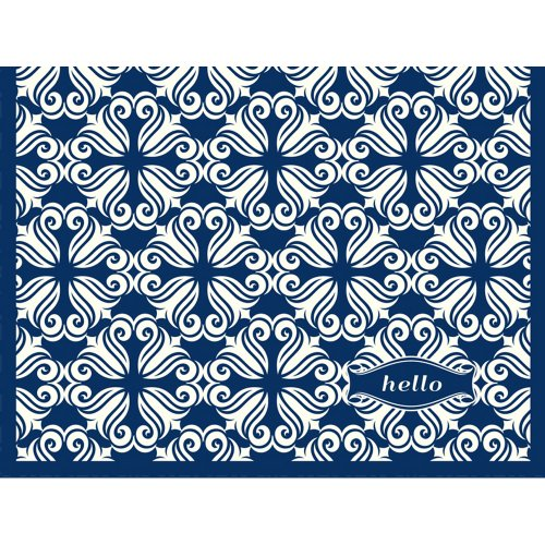 C.R. Gibson 10 Count Open Stock Informal Note Cards, Aegean Sea front-1073476