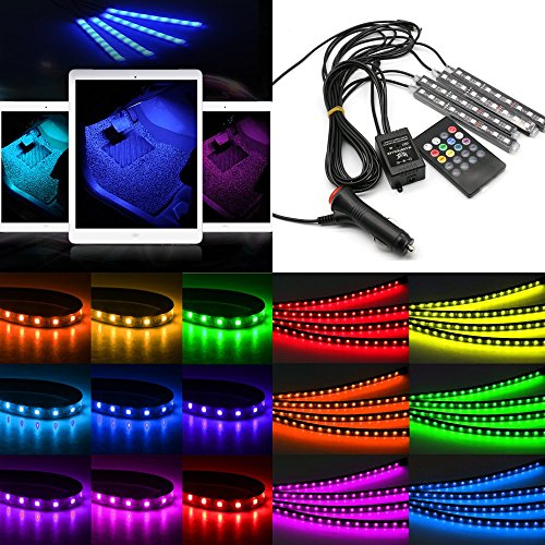 usun-4pcs-9-led-12v-7-colors-rgb-car-interior-floor-decoration-muli-colour-light-deco-waterproof-lam