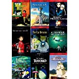 The Best of Miyazaki Collection (9 Pack) ~ My Neighbor Totoro / Nausicaa Of The Valley Of The Wind / Whisper of The Heart / Kiki's Delivery Service / Howl's Moving Castle / The Cat Returns / Porco Rosso / Castle In The Sky / Spirited Away (9 films, 18-DVDs, 956-minutes) ~ Hayao Miyazaki