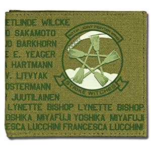 Strike Witches 501st Emblem Vintage Style Wallet