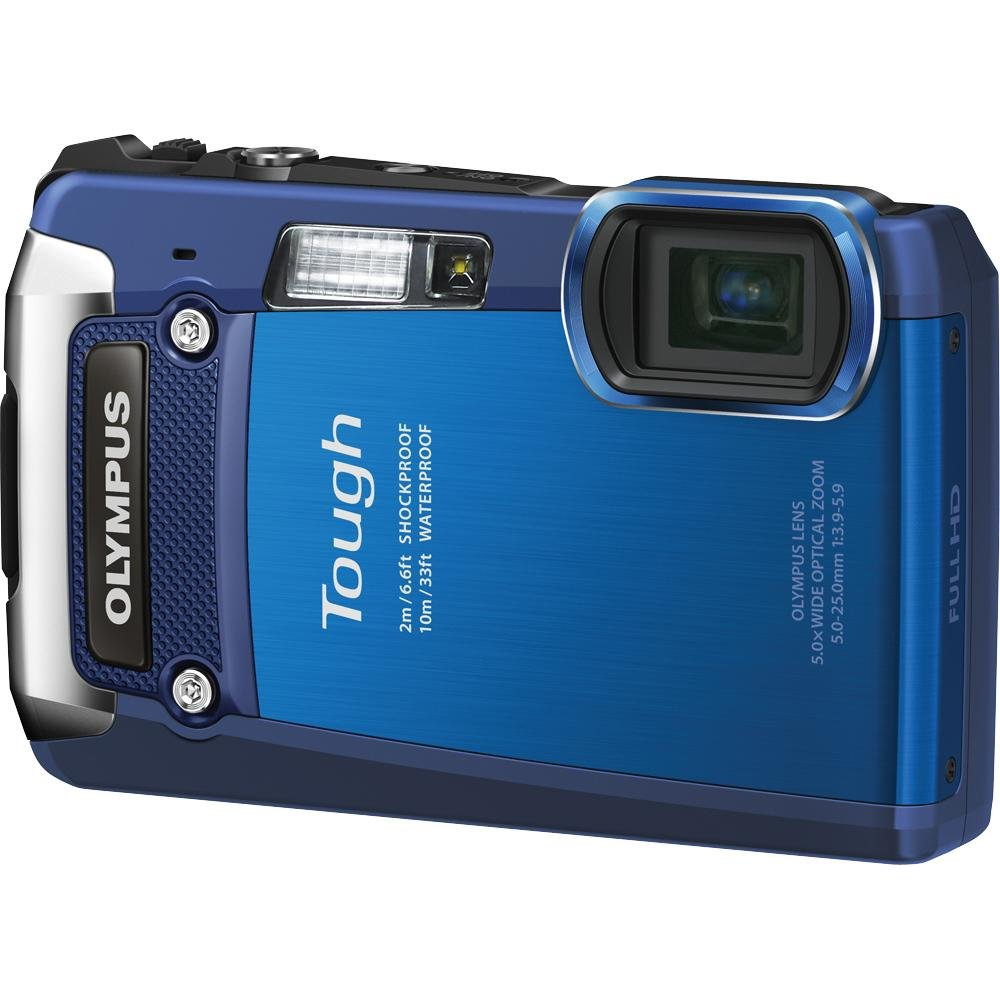 Olympus Digital Camera TG-820 Blue