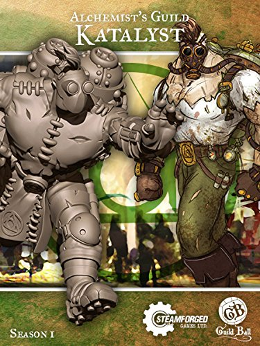 Steamforged Games Guild Ball Alchemist Katalyst Kit