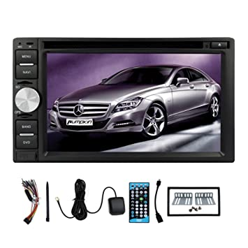 USB USB / SD 6.2 pulgadas De Video unidad principale Auto Radio Receptor En tablero con GPS sans fil Bluetooth CD coches Lecteur DVD Radio EstšŠreo Auto Audio PC de voiture Double DIN DVD SD Motors Vehšªculo LCD Monitor Automotri