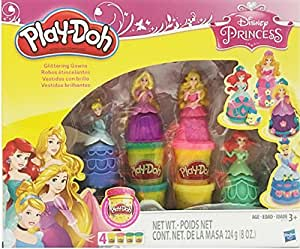 Hasbro Play Doh Disney Princess Glittering Gowns