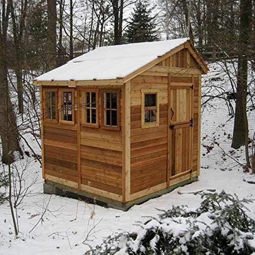 Outdoor-Living-Today-SSGS88-Sunshed-8-x-8-ft-Garden-Shed