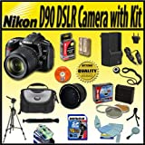 Nikon D90 12.3MP DX-Format CMOS Digital SLR