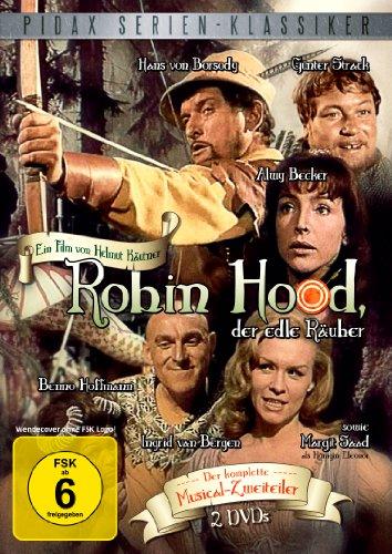 Robin Hood, der edle Räuber - Der komplette 2-Teiler (Pidax Serien-Klassiker) [2 DVDs]