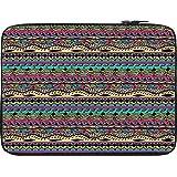 Snoogg Azter Pattern Flowy 13 To 13.6 Inch Laptop Netbook Notebook Slipcase Sleeve