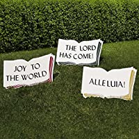 Outdoor Nativity Store Good Words Yard Sign Set from Outdoor Nativity Store