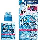 トップ スーパーナノックス 洗濯洗剤 液体 本体 450g+詰替 360g
