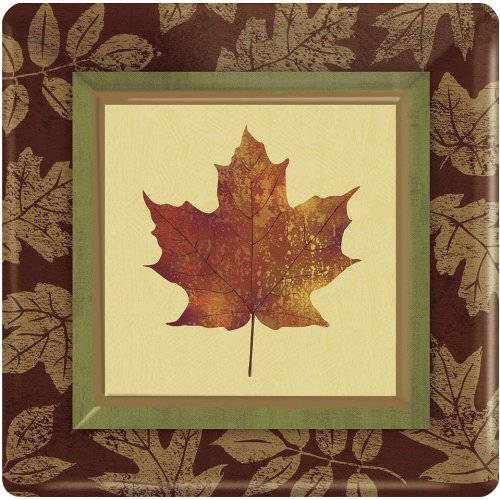 Fall Elegance Cake Plates (8 Pack)