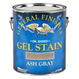 General Finishes Oil Base Gel Stain, 1 Gallon, Ash Gray (Color: Ash Gray, Tamaño: 1 Gallon)