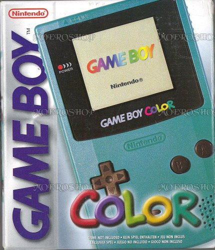 Game Boy Color - Teal front-335959