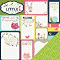 Imaginisce Welcome Spring, Spring Journaling 12x12 Scrapbook Paper