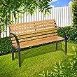 TecTake-Gartenbank-Eukalyptus-Holz-Gartenmbel-Parkbank-Sitzbank-wetterfest