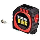 Digital Tape Measure, 3 in 1 LED Digital Display Laser Measure King All and Any Surfaces